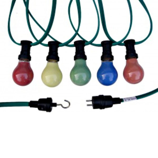 Lichterkette - Gartenparty, es handelt sich hier um ein Beispielbild