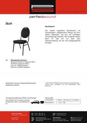 Stuhl mieten bei ps-partyplan.de aus Rheine