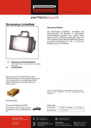 Stroboskop von ps-partyplan.de aus Rheine